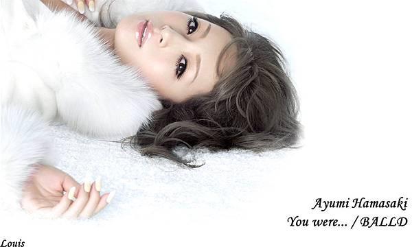 1280×768 You were... /BALLAD Ayumi 濱崎步