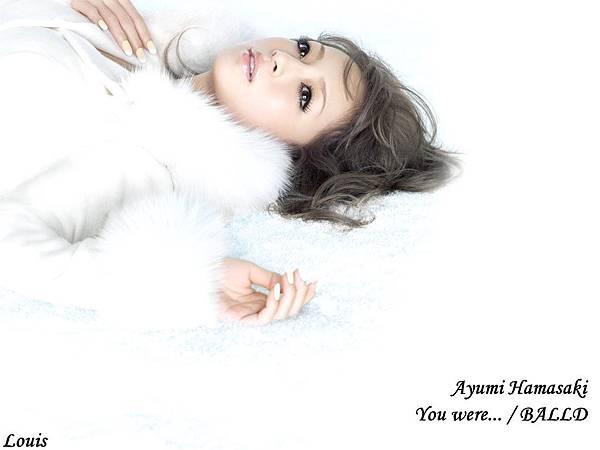 1024x768 You were... /BALLAD Ayumi 濱崎步