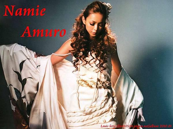 1024x768 Namie Amuro 2010.02 WOOFIN girl