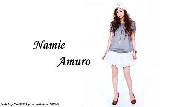 1280x768 Namie Amuro 2010.03 mina