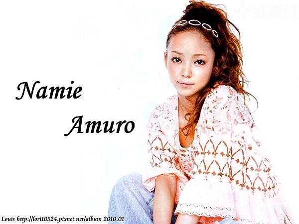 1024x768 Namie Amuro 2010.03 mina