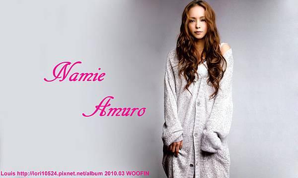 1280x768 Namie Amuro 2010.03 WOOFIN