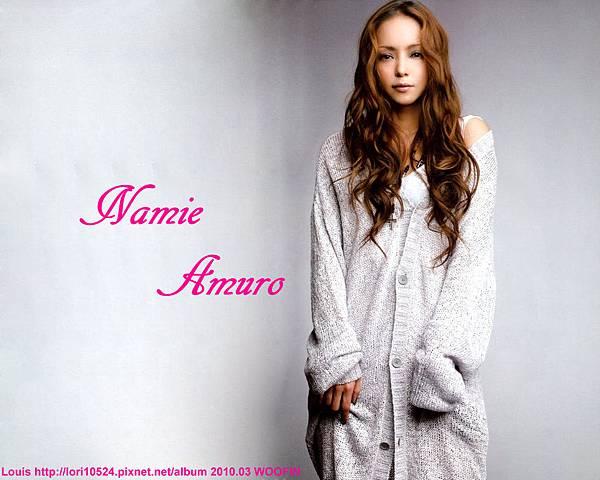 1280x1024 Namie Amuro 2010.03 WOOFIN