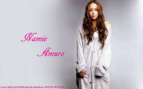 1440x900 Namie Amuro 2010.03 WOOFIN