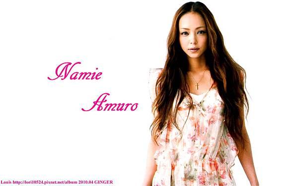 1440x900 Namie Amuro 2010.04 GINGER
