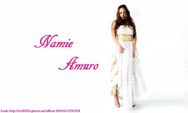 1280x768 Namie Amuro 2010.04 GINGER