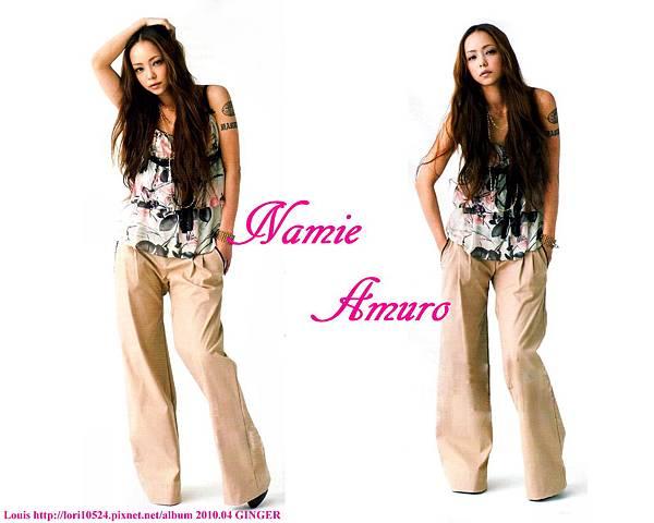 1280x1024 Namie Amuro 2010.04 GINGER