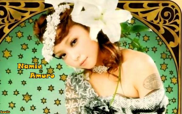 1440x900 Namie Amuro 2010.01 Glamorous