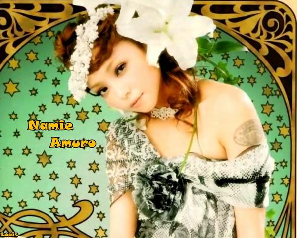 1280x1024 Namie Amuro 2010.01 Glamorous