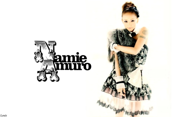 1440x900 Namie Amuro 2010.01 Scawaii