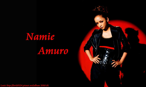 1280x768 Namie Amuro 2010.02 WOOFIN girl