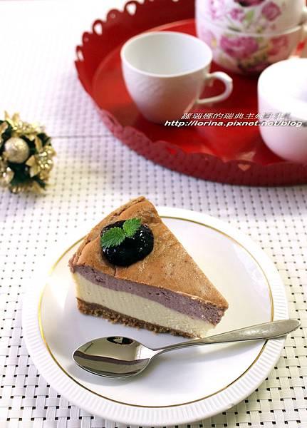 藍莓重乳酪起司蛋糕.JPG
