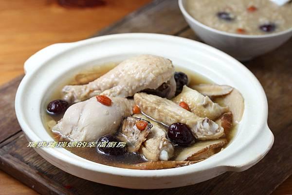 紅棗糙米雞湯2