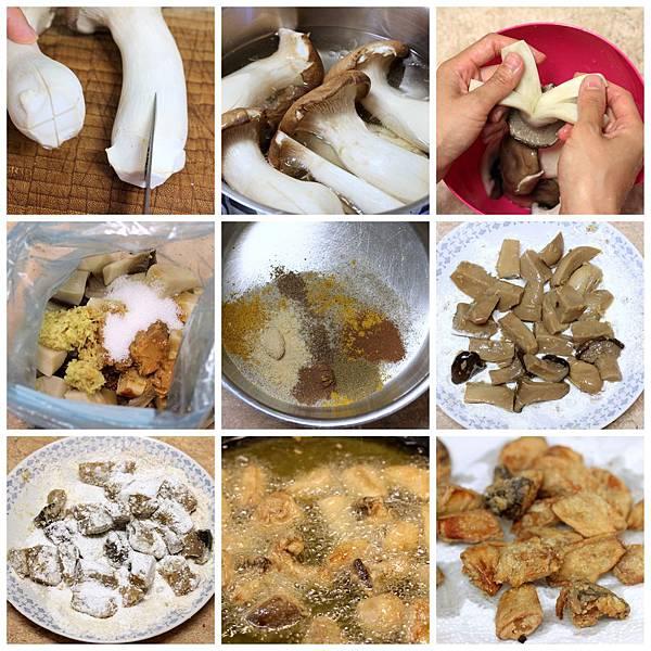 鹹酥雞+豆乳杏鮑菇-001