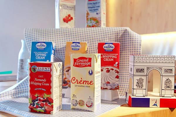 鮮奶油集合