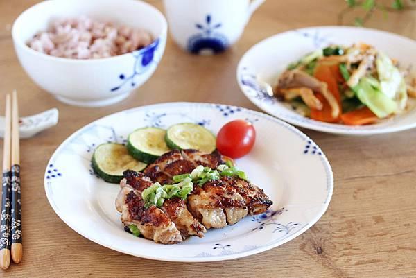 一鍋兩菜~鹽麴雞腿+奶油時蔬3.jpg
