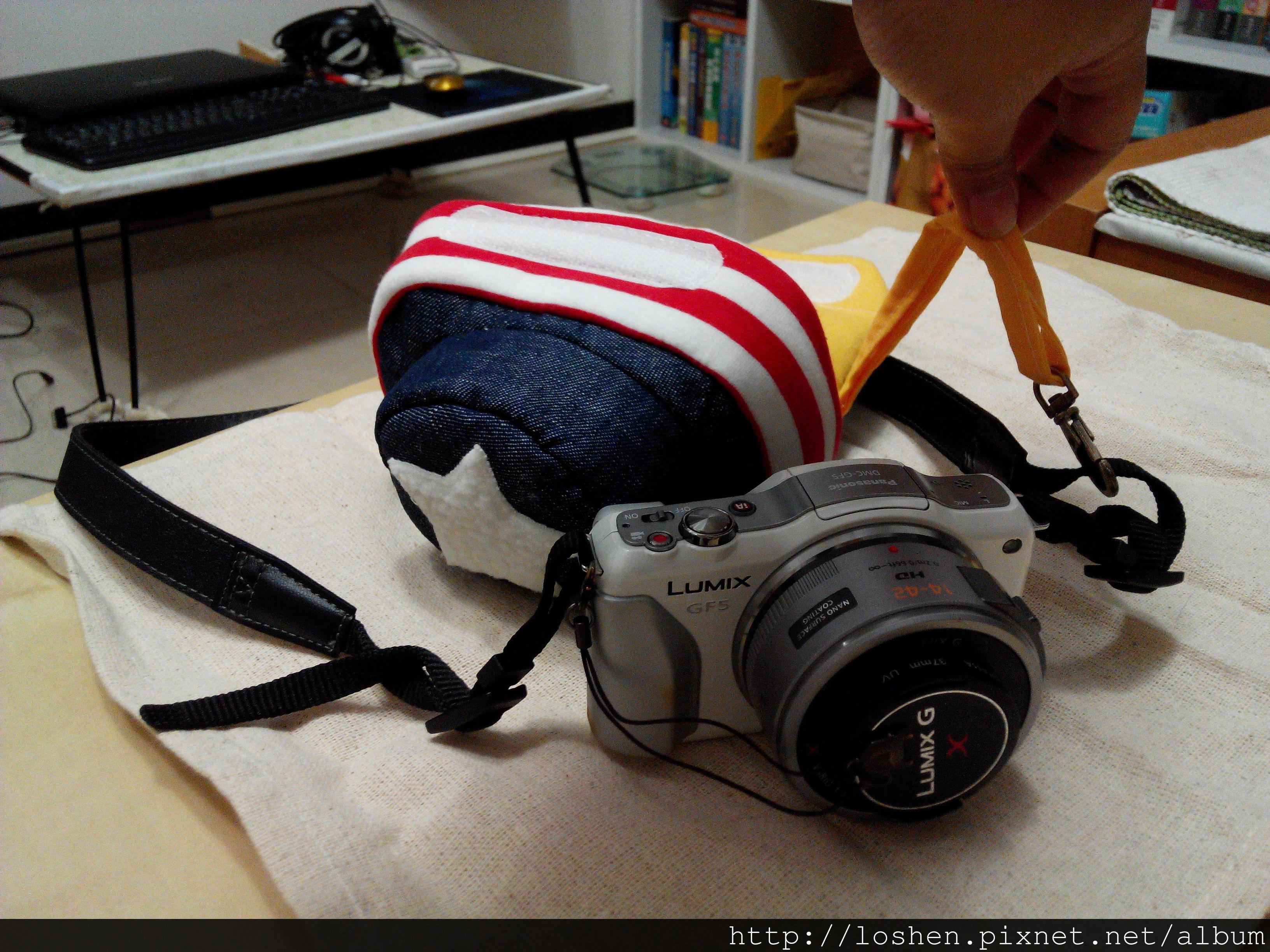 美國旗款相機包