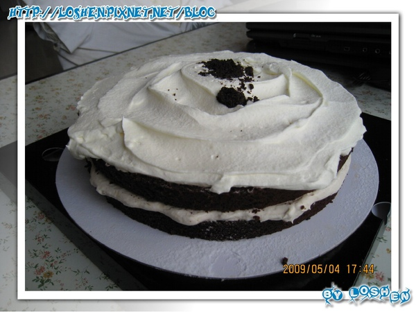D2惡魔蛋糕側面圖
