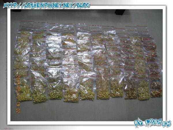 卡滋卡滋爆米花10種口味共100小包分裝圖