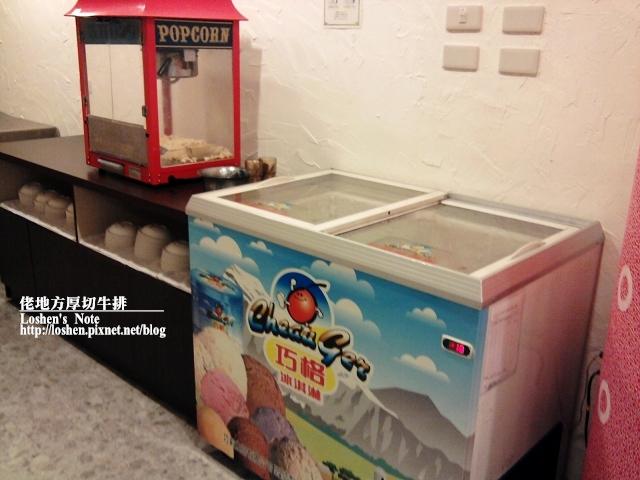 佬地方厚切牛排館-冰淇淋跟爆米花