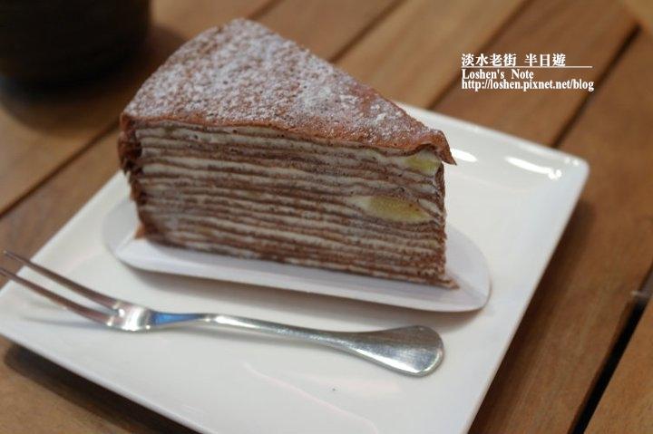 星野銅鑼燒-巧克力香蕉千層蛋糕