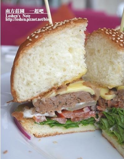 南方莊園的「一起吧」的大漢堡