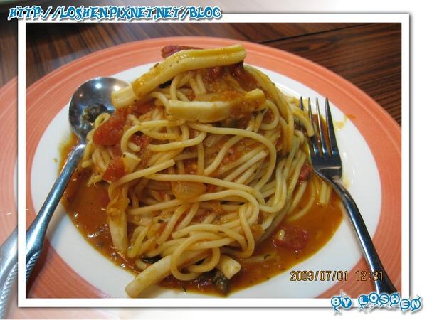 麵食主義-酸辣鮮魷麵