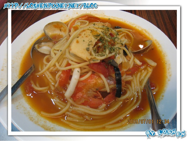 麵食主義-西西里海鮮湯麵