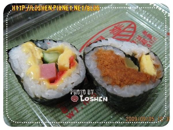 老賊壽司-起司壽司&肉鬆壽司