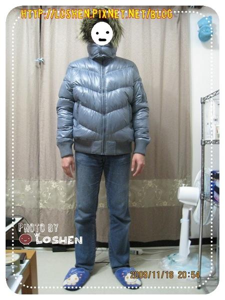 Lativ-超輕量男款L號深灰色