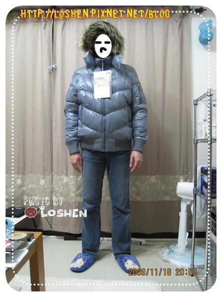 Lativ-超輕量男款L號深灰色(牌子忘了拿下來)