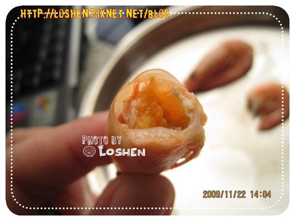 海番王-北極甜蝦的蝦頭