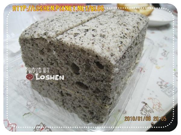 法蘭四季-芝麻蛋糕