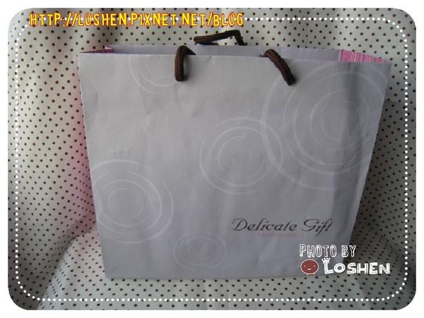 橙果金莎巧克力捲-體面的紙提袋