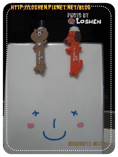 Q-liao日韓風格文具生活館-動物筆
