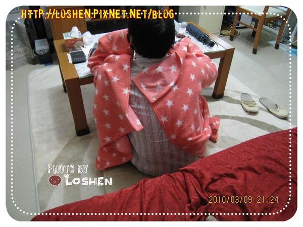 *100%台灣製*保暖袖毯/懶人毯*背後冷