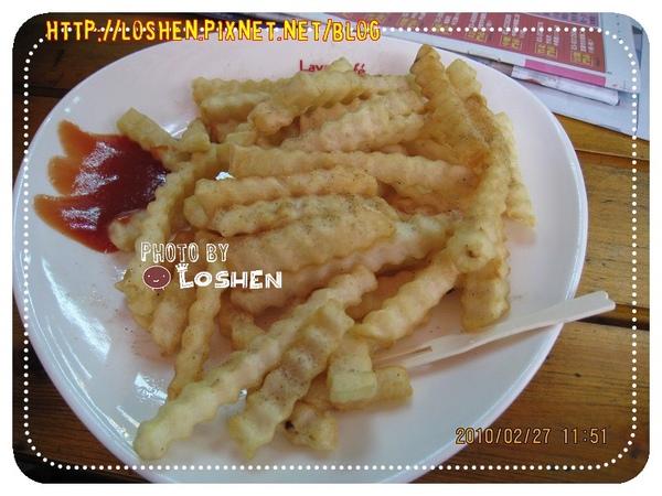 捷捷廚房-8號超值特餐薯條