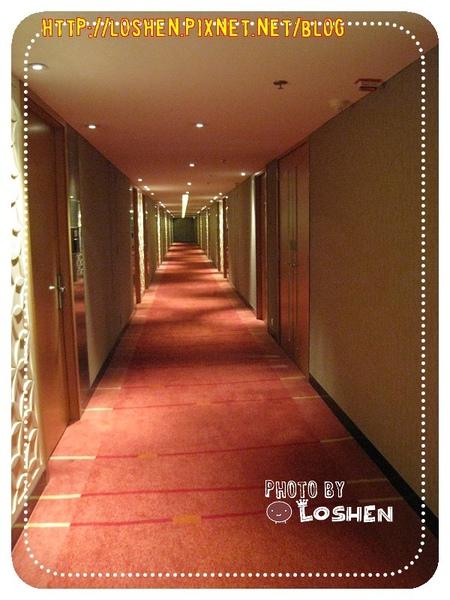 百樂飯店-走道