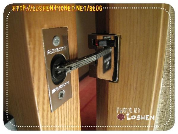 百樂飯店-門扣
