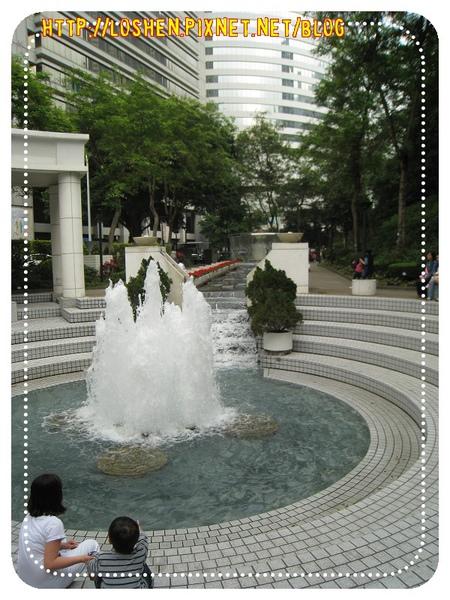 香港公園-噴水池