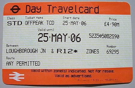 Cost Of One Day Travel Card All Zones