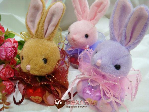 [幸福久久久] 百年好合福袋兔~新款兔子