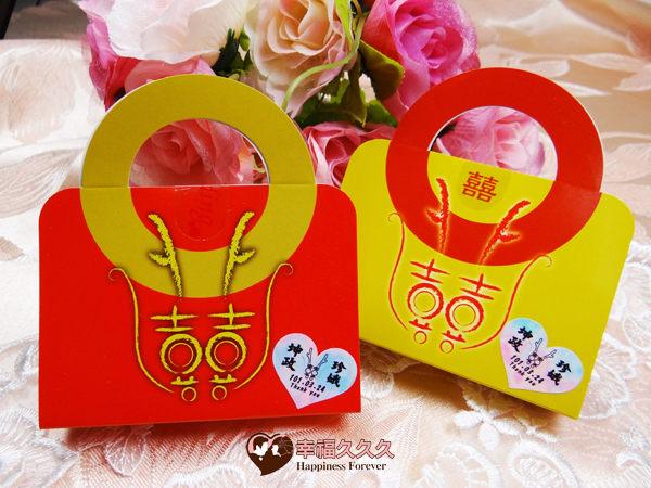 [幸福久久久]小龍包超大金幣巧克力手提組(贈姓名貼紙)2