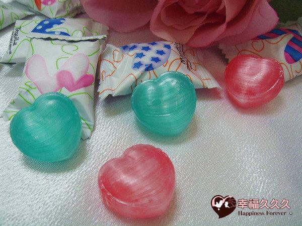 [幸福久久久]心型水果糖(1000公克150元)