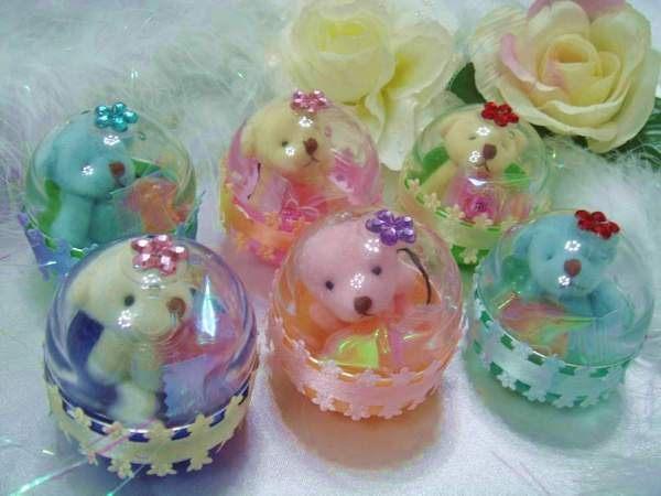 [幸福久久久]幸福花園四色熊扭蛋喜糖