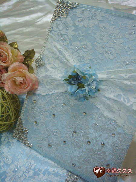 [幸福久久久]典藏希臘風手作結婚證書夾結婚證書(優惠免運費含收藏袋)