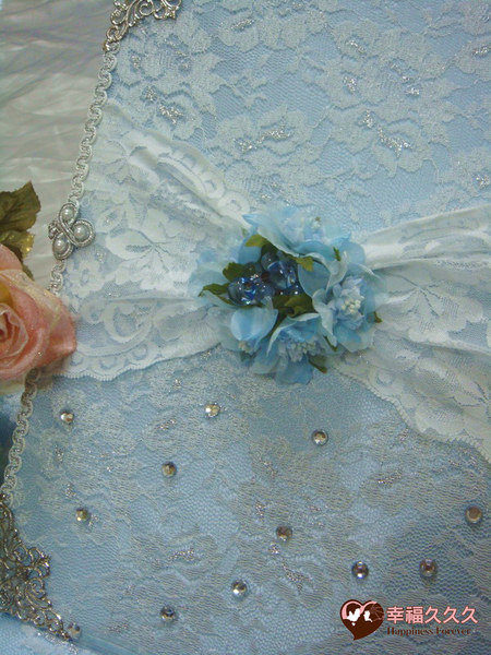 [幸福久久久]典藏希臘風手作結婚證書夾結婚證書(優惠免運費含收藏袋)2