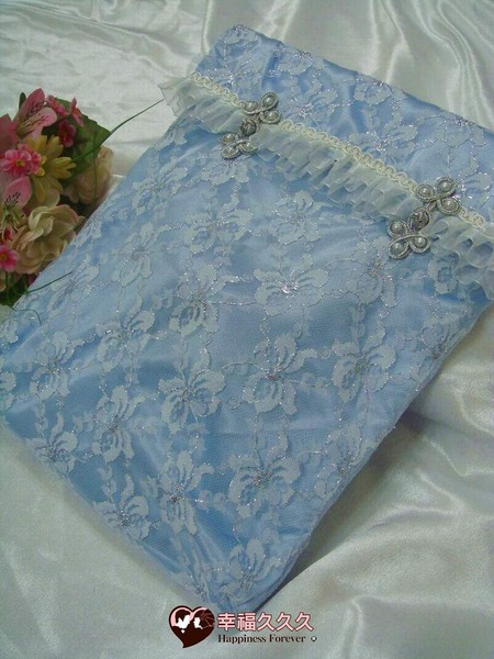 [幸福久久久]典藏海洋風手作結婚證書夾結婚證書(含收藏袋)2