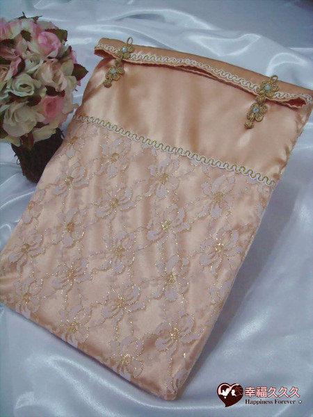 [幸福久久久]典藏豪華手作結婚證書夾結婚證書(含收藏袋)2