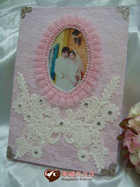 [幸福久久久]花戀你手作結婚證書夾結婚證書(免運費含收藏袋一個)